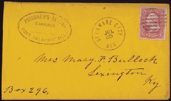 1861-64 Civil War POW Examined Prisoners
