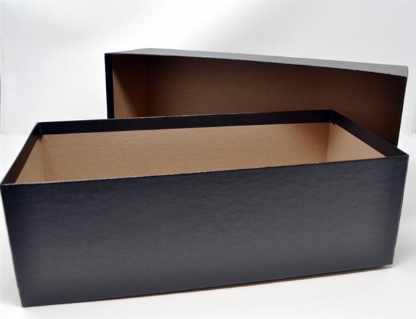 Storage Box Fits 4 1/8 x 6 1/4 and 4 1/2 x 6 5/8 inch # 7 & 8 Glassines, Black