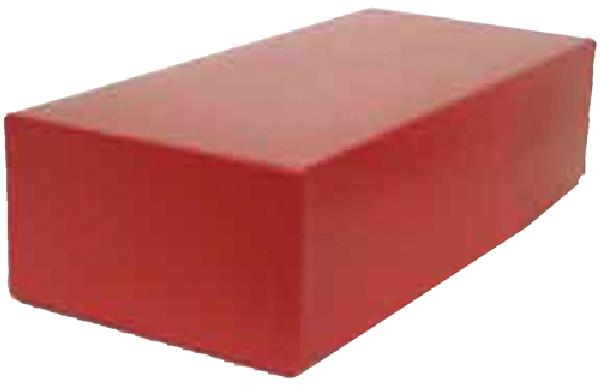 Storage Box, Red Embossed, Fits #5 Glassines