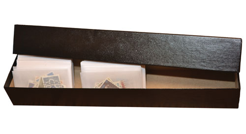 Storage Box Fits 1 3/4 x 2 7/8 inch #1 Glassines, Black