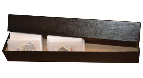 Storage Box Fits 1 3/4 x 2 7/8 inch #1 Glassines, Black