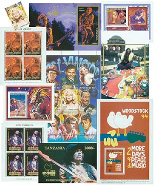 Musician Stamp Collection, 23v