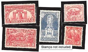 1926-27 Year Set Mounts (5)