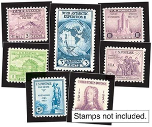 1933 Year Set Mounts (7)