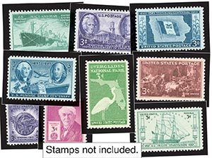 1946-47 Year Set Mounts (13)
