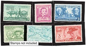 1949 Year Set Mounts (6)