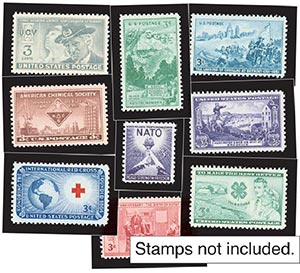 1951-52 Year Set Mounts (19)