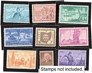 1953-54 Year Set Mounts (17)