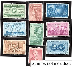 1955 Year Set Mounts (9)