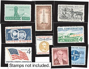 1959 Year Set Mounts (15)