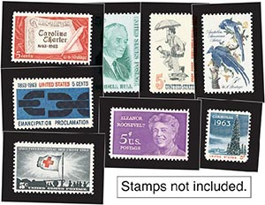 1963 Year Set Mounts (12)