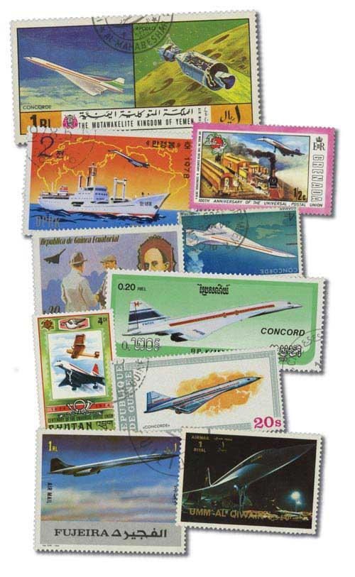 Concorde (Plane), 25v
