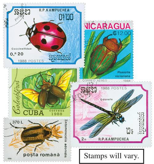 Insects, 50v