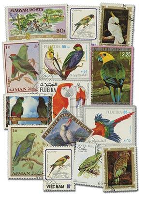 Parrots, 50v