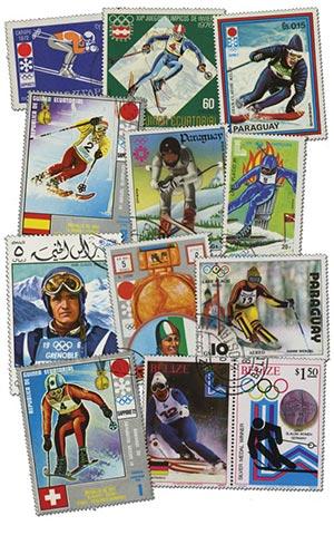 Skiing, 50v