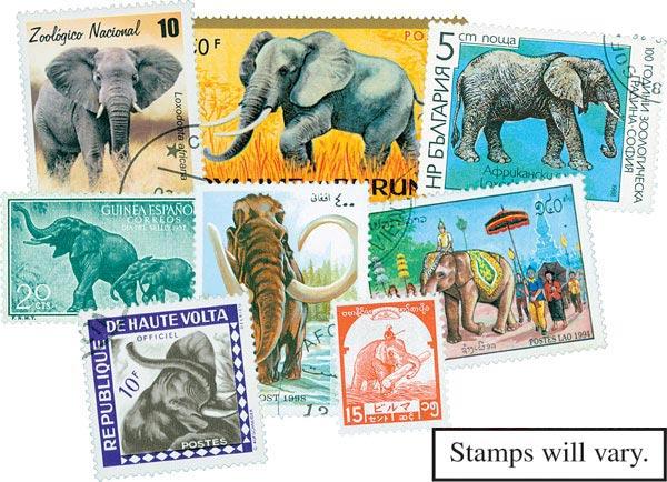 Elephants, 25v