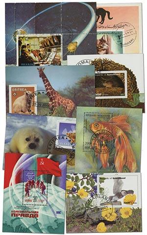 Topical Souvenir Sheets, 50v
