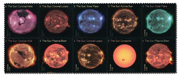 2021 55c Sun Science