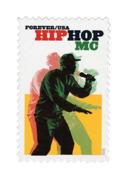 2020 First-Class Forever Stamp - Hip Hop: MC