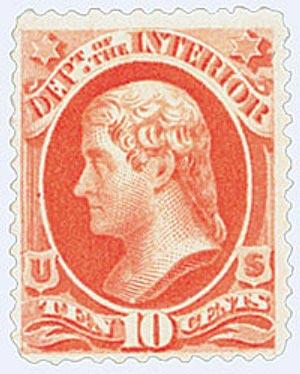 1879 10c ver, interior, soft paper