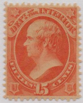1879 15c ver, interior, soft paper