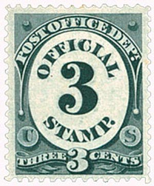 1879 3c blk, post office, soft paper