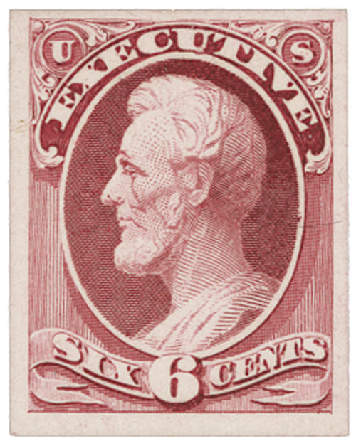 1873 6c carmine, executive