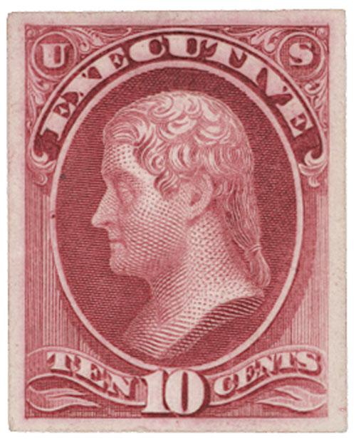 1873 10c carmine