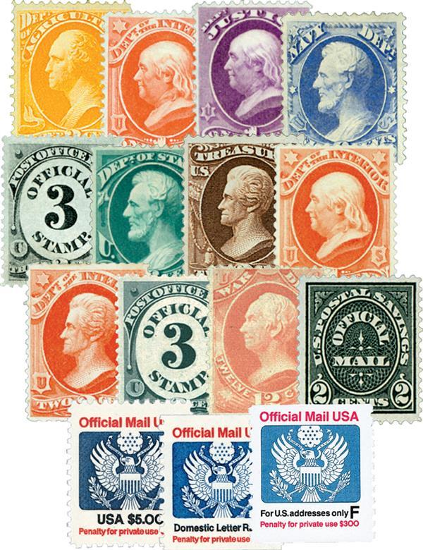1873-1991 3c-29c Officials (15)
