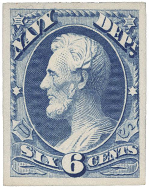 1873 6c ultramarine