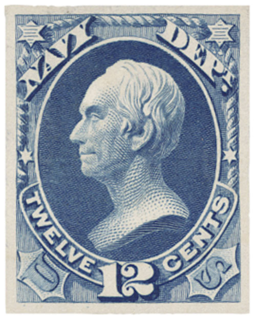 1873 12c ultramarine