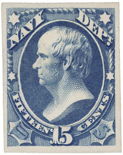 1873 15C ultramarine, navy