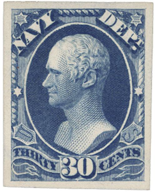 1873 30c ultramarine
