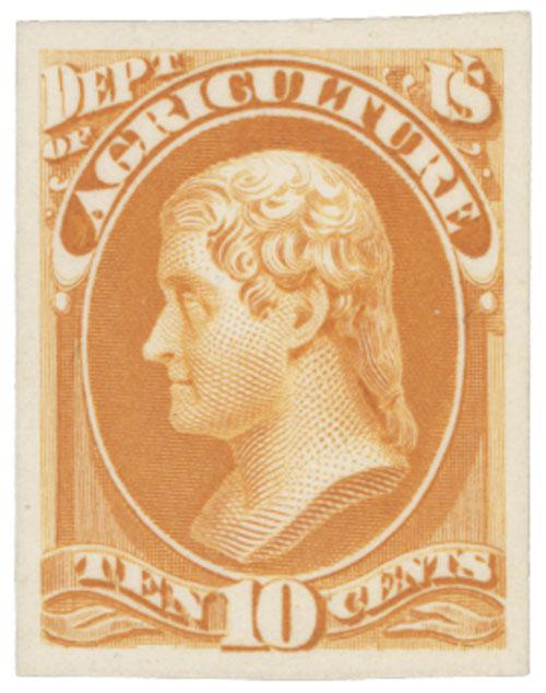 1873 10c yellow