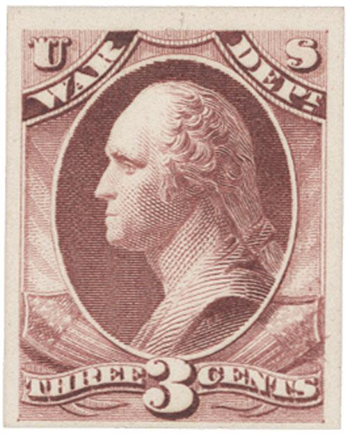 1873 3c rose, war