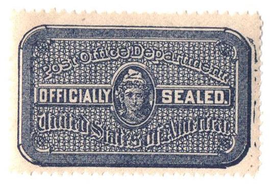 1907 blue,wmk,seal of U.S.