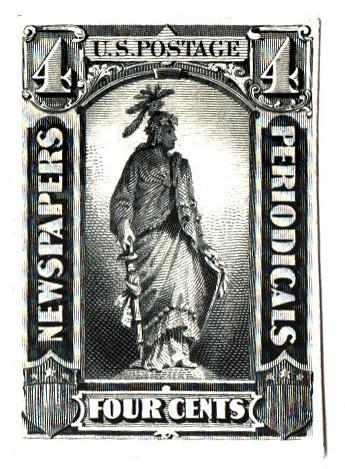 1875 4c black