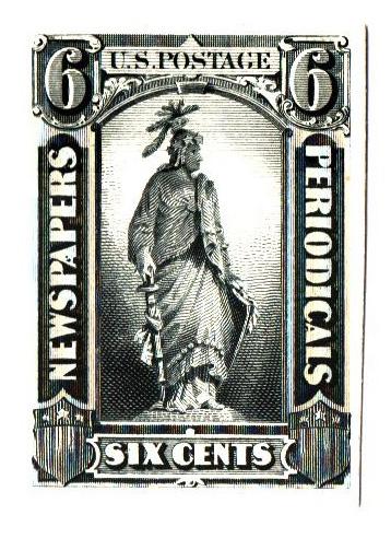 1875 6c black