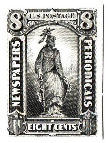 1875 8c black
