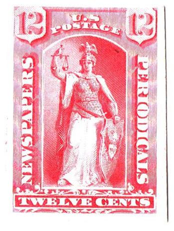 1875 12c rose