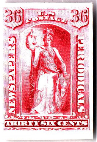 1875 36c rose