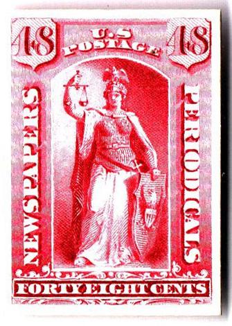 1875 48c rose