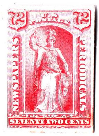 1875 72c rose