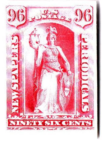 1875 96c rose