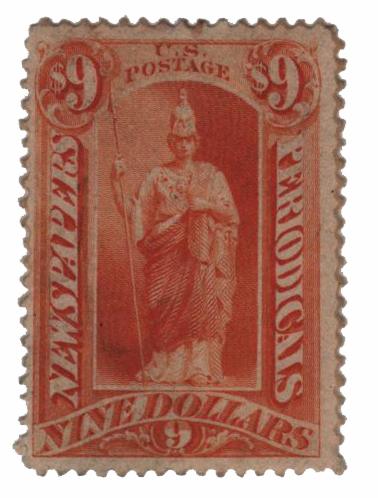 1875 $9 yellow orange