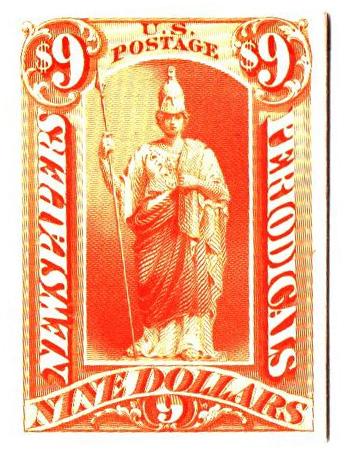 1875 $9 yellow