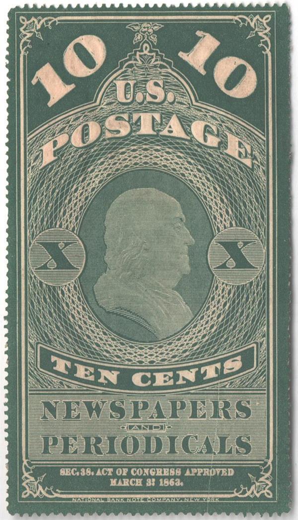 1865 10c green