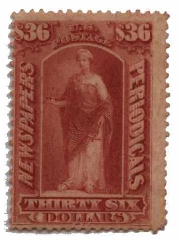1875 $36 brown rose