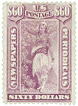 1875 $60 violet