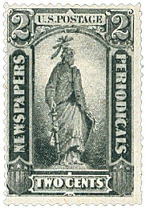 1879 2c blk, soft paper